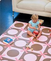protect baby noggins!  buy a foam playmat!