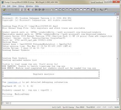 Using WinDbg for Quick Memory Dump Analysis
