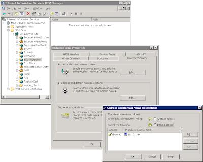 Active Sync Error 85010014 OTA with Exchange 2003