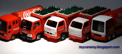 Featured Collection: Tomica Coca-Cola Trucks