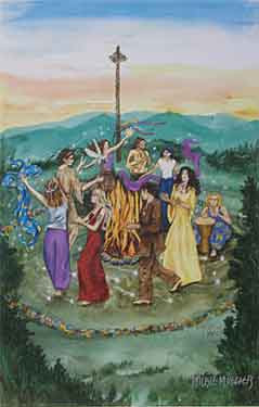 Celtic Lady: THE FIRES OF BELTANE