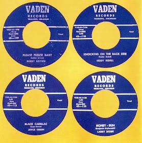 The Rockin Gipsy Vaden Records