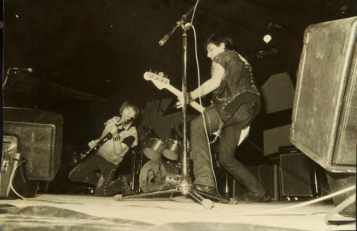 Épsilon. 2º puesto en el I Concurso de Rock de La Coruña. Pabellón de Riazor, 1982: