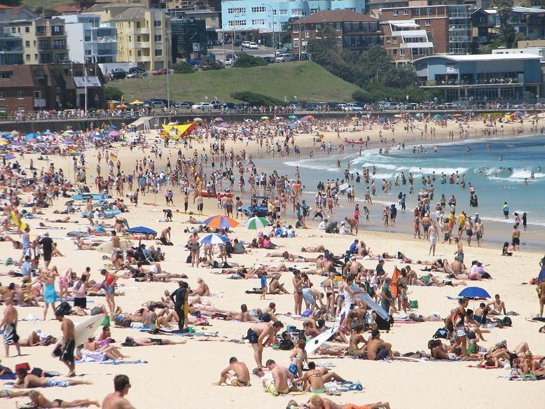 Australia Literally Bondi Beach Clothing Optional