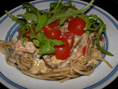 pastasås med lövbiff