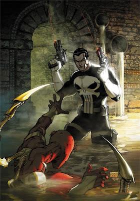 justiceiro homem aranha