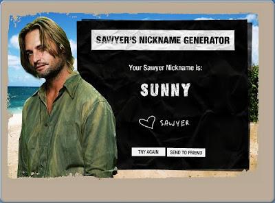 sawyer´s nickname generator