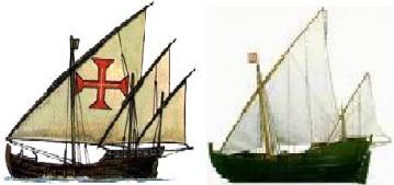 Embarcações - Séculos XV e XVI