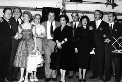 Anibal Troilo, Alberto Marino y Zita en 1949