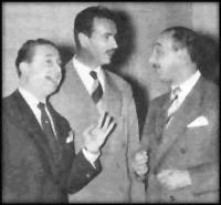 JUAN SANCHEZ GORIO con Mendoza y Bazan