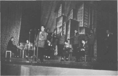 Hugo Duval con la Orquesta de Rodolfo Biagi