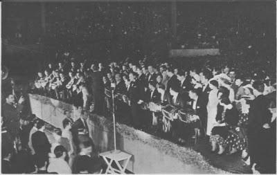 Francisco Canaro su orq. en e Luna Park en 1936