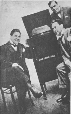 Carlos Gardel-Razzano y José Ricardo (1917).
