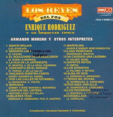Orquesta Tipica Enrique Rodriguez