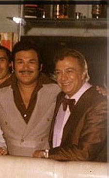 Roberto Florio(derecha)con R.Araya