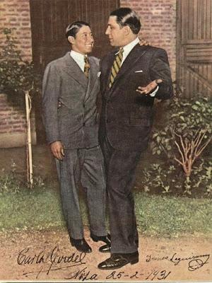 Carlos Gardel con Irineo Leguizamo en 1931