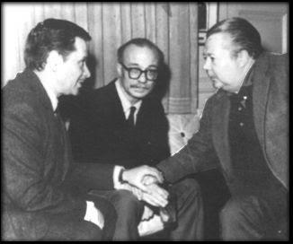 Ben Molar, Ernesto Sábato y Aníbal Troilo