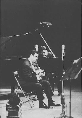 Ubaldo De Lio con Horacio Salgan en 1965