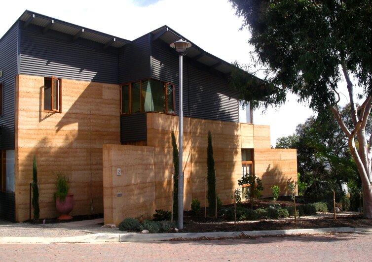 Carrie S Design Musings The Rammed Earth House