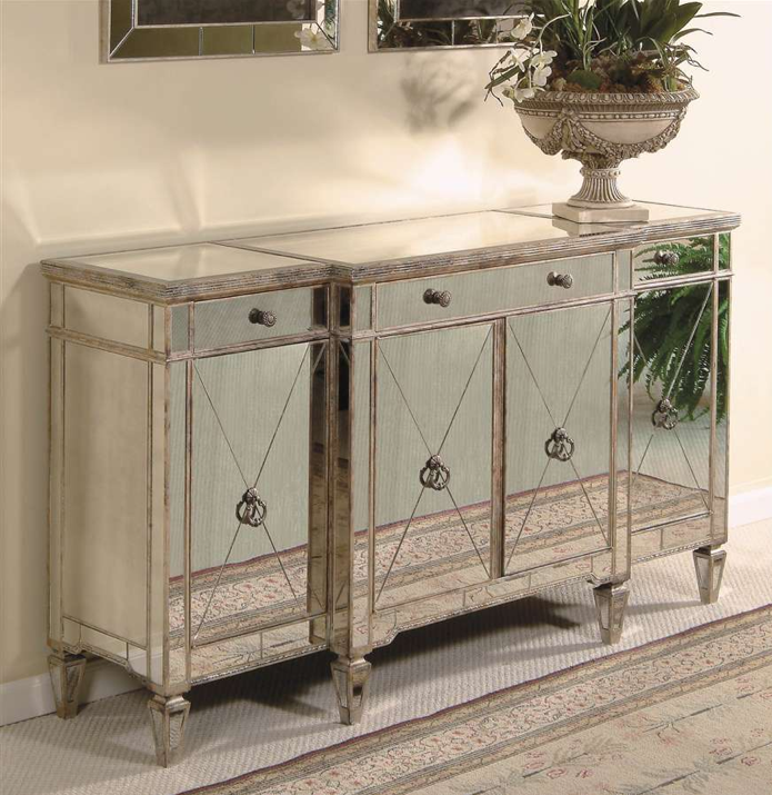 Horchow Mirrored Buffet/Console