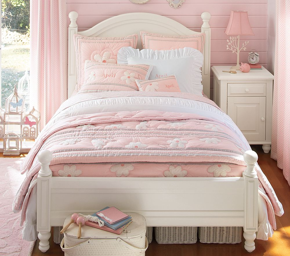 Pottery Barn Toddler Bed: Pottery Barn Kids Anderson Bed