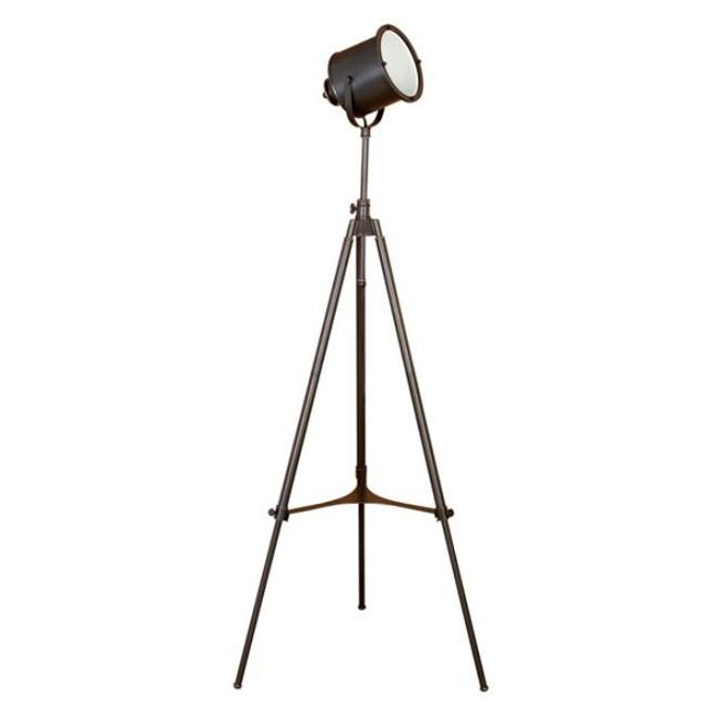 Vintage photographer tripod floor lamp