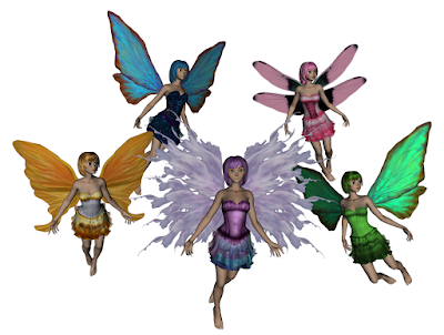 5 Beautiful Fairies