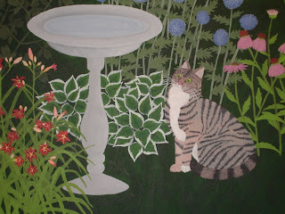 Cat painting - final step