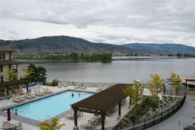 View from Walnut Beach Resort in Osoyoos, BC