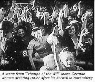 Image result for Triumph of the will Nazi Women
