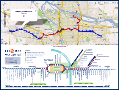 Trimet Portland Or Map Images