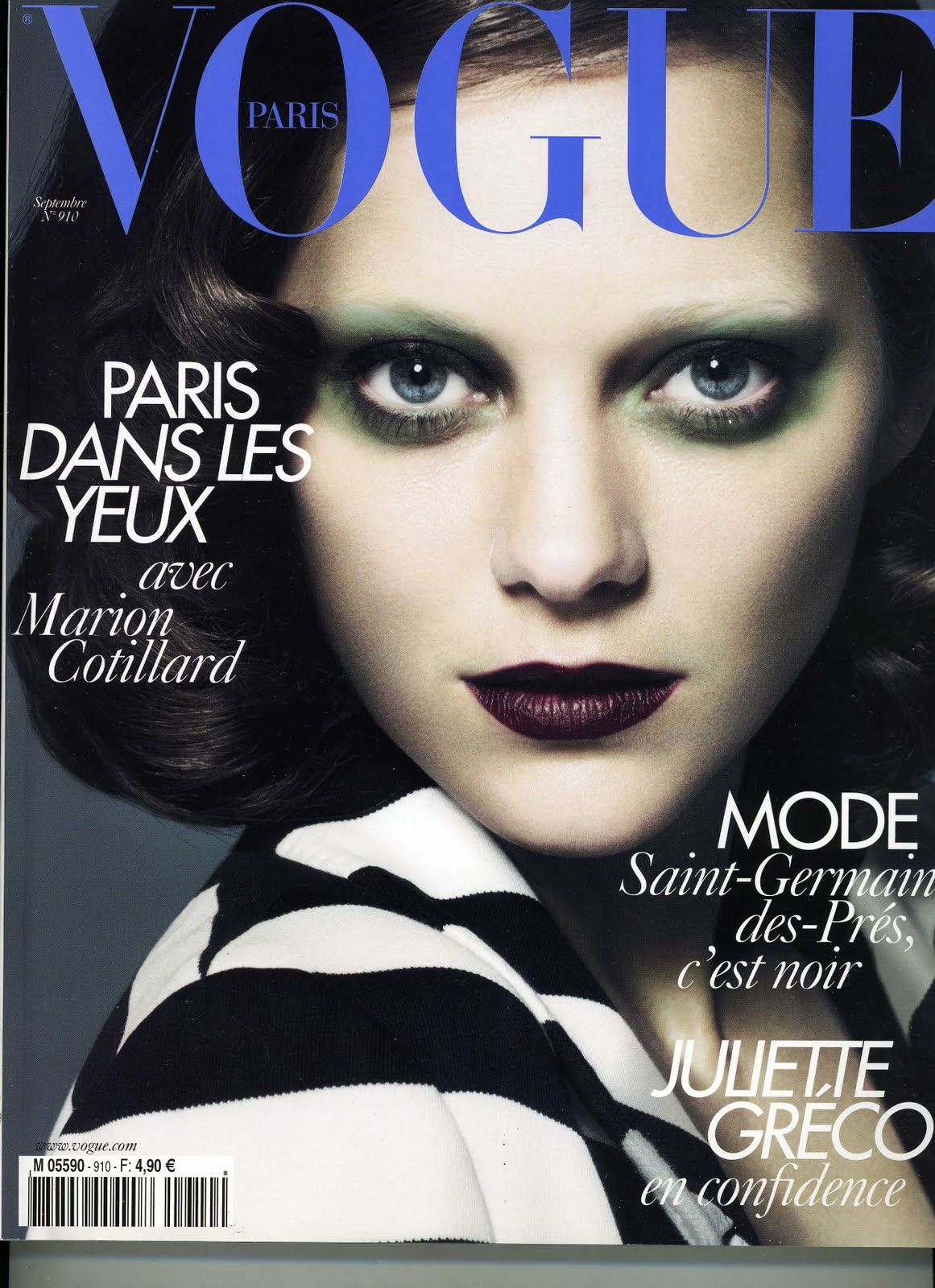 french vogue magazine covers editor magazines france makeup paris marion cotillard fr barrington chief
