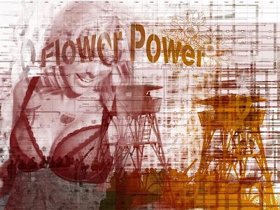 flower power camp bra
