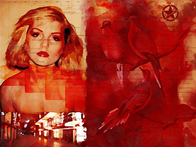blondie rockbird birds collage