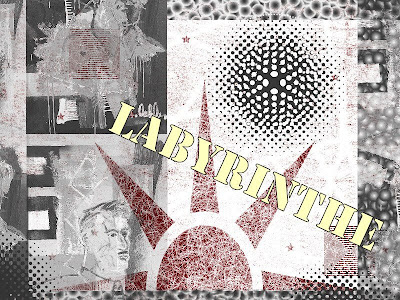 labyrinthe art collage painters