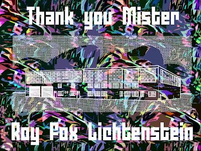 lichtenstein tribute art design