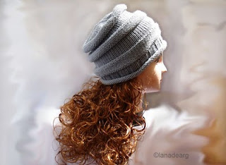 Knitting pattern in PDF beanie hat