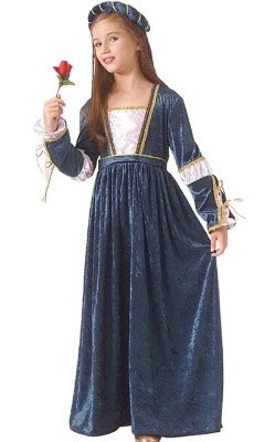 A Prom Dress Gown: Medieval Costumes For Childrens