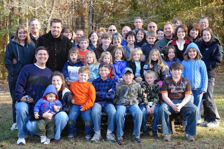 Smith Family Reunion Thanksgiving 07