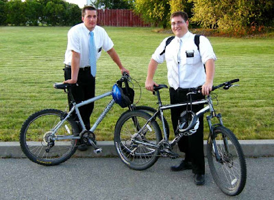 sex naughty mormon 2 missionaries bike