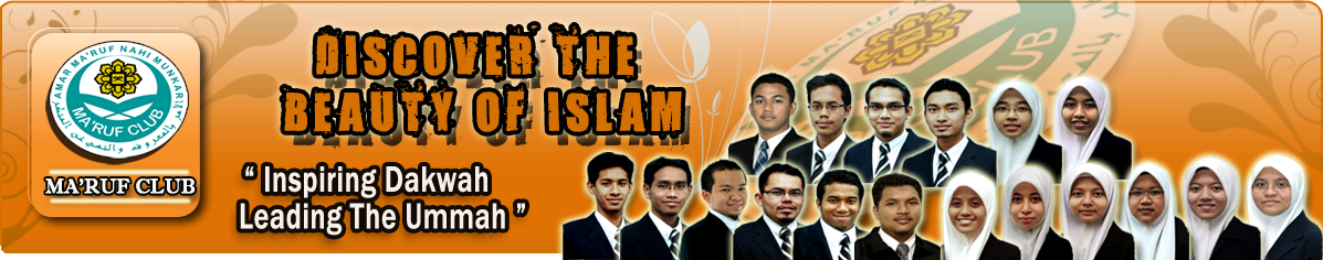 Ma'ruf Club IIUM - Discover The Beauty Of Islam