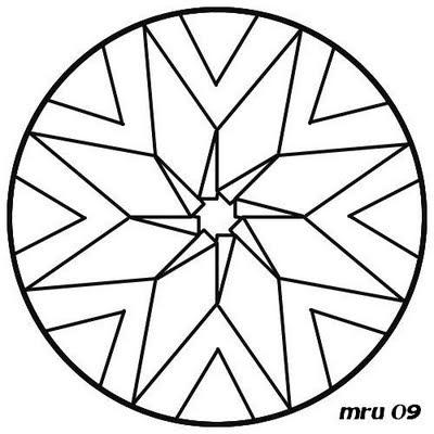Mandalas Mru Mandala Para Pintar Y Colorear Facil Y