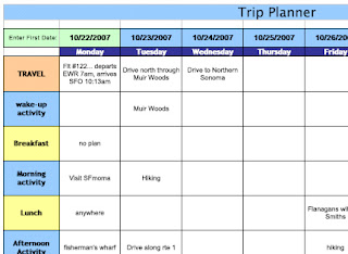 Vacation Planner Template. employee free hr excel for managers ...