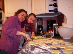 Drew and Mommy baking!