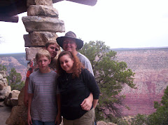Patrick, Beth, Chris and Ben at the Grand Canyon this summer