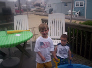 Nicholas and Drew on July 4th