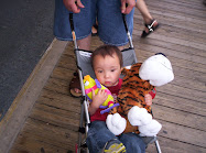 Drew's first boardwalk prizes