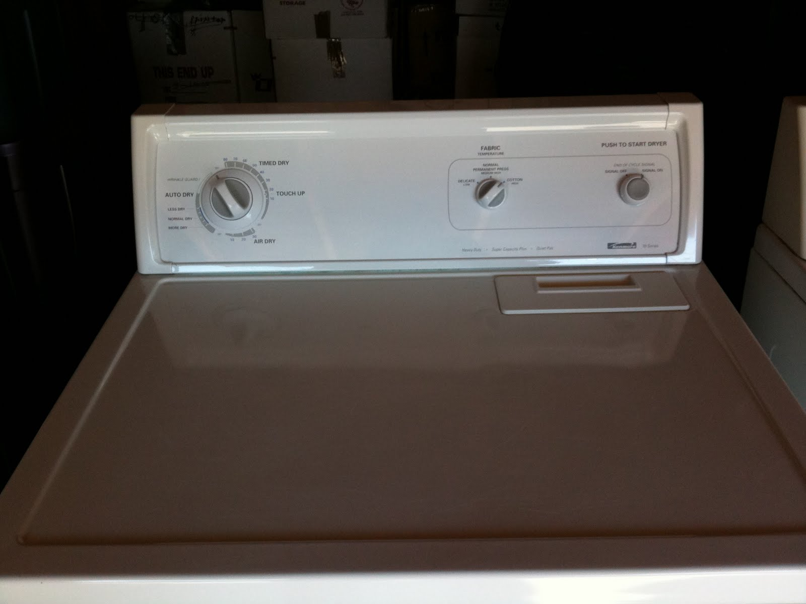 For Sale Sold Kenmore Super Capacity Plus Washer And