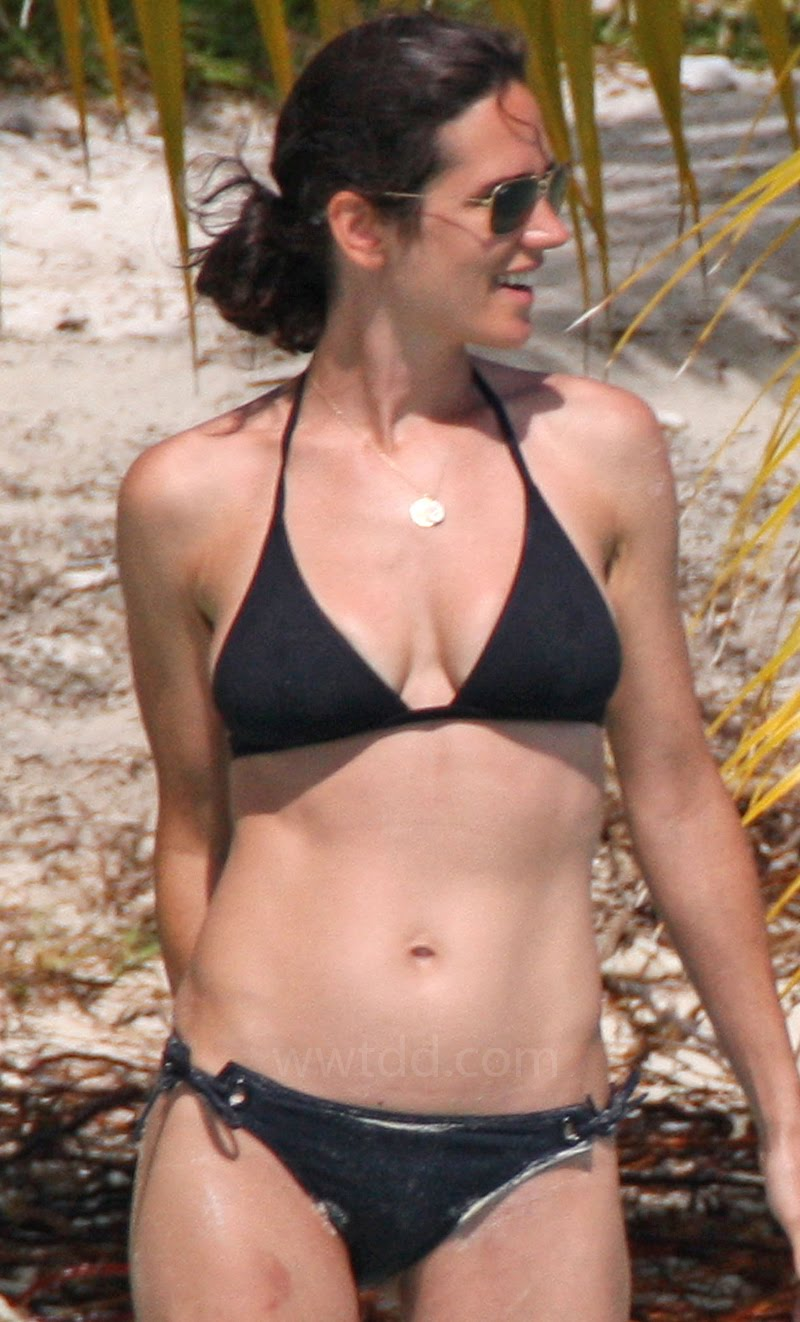 Artist Sexy Kaddafi Jennifer Connelly Sexy In The Black Bikini