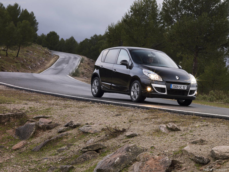 Free Picture: Renault Scenic pictures